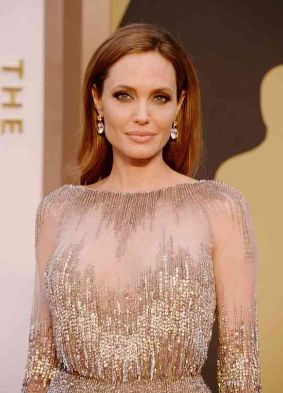 HOLLYWOOD, CA - MARCH 02: Actress Angelina Jolie attends the Oscars held at Hollywood & Highland Center on March 2, 2014 in Hollywood, California.   Jason Merritt/Getty Images/AFP