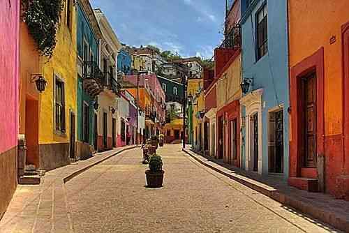A colorida Guanajuato!