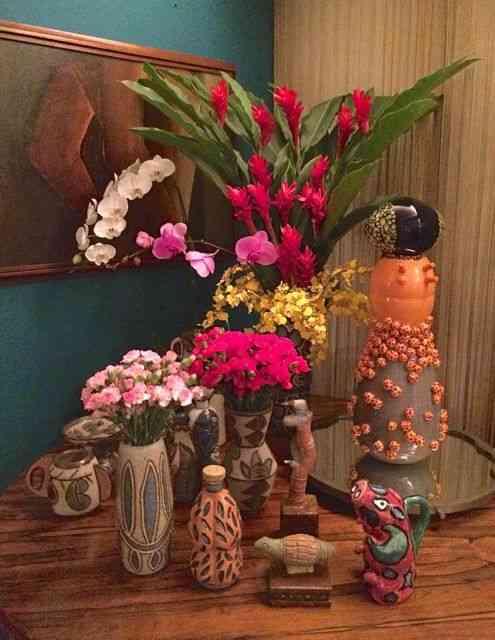 Recanto florido: mais vasos visuais!