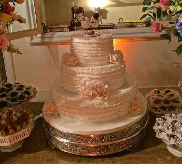 Fecho com close do bolo!