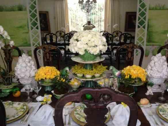 O divino centro de mesa!