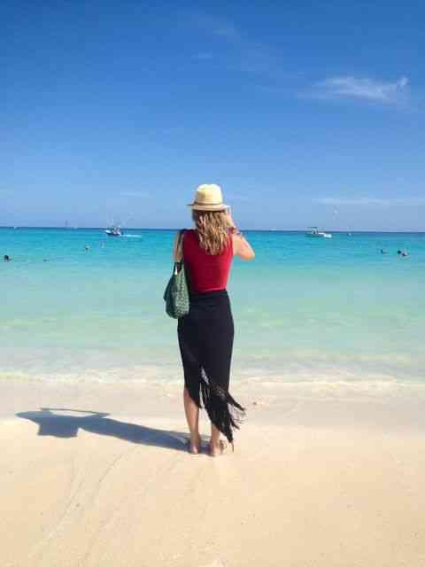 De verdade, nunca ví um mar como este de Praia del Carmen: unforgettable!