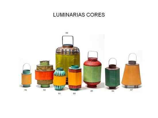 LUMINARIAS CORES