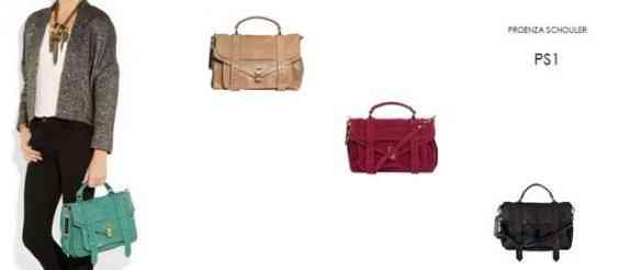 Achei super bacana vermos a bolsa que está a venda num look!