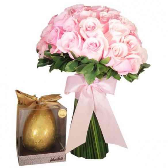 """Quem não gosta desta """"dobradinha"""" luxo só: Flores e choco?!"""