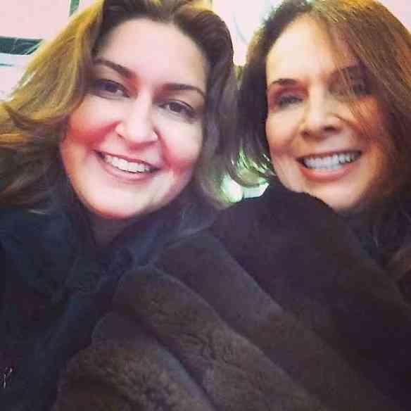 As queridas Roberta e Jane Rose