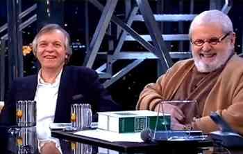 Tavynho Bonfá e Jô Soares