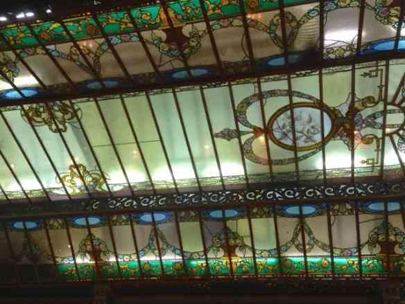 A beleza do teto da Colombo!