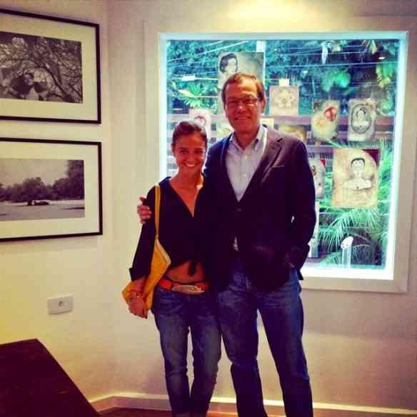 Maria TM e Paulo Niemeyer Filho amando!!!