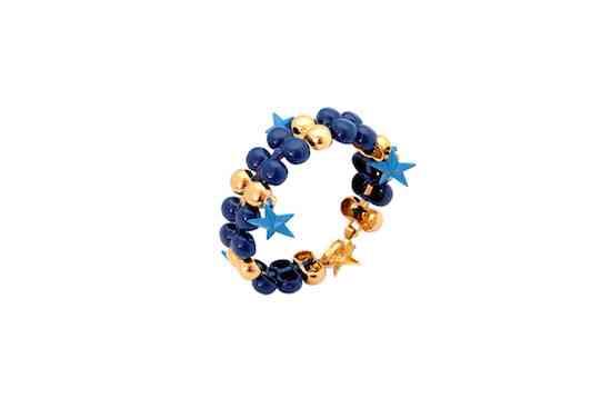 IMG_1680  PULSEIRA bolas azul e dourado com estrela-X2 (1)
