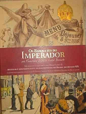 """Cartão de embarque para horas de puro prazer: """"Os Banquetes do Imperador"""" é um livro imperdível!"""