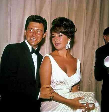 Liz e Eddie Fischer