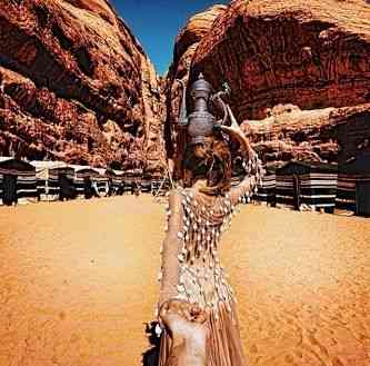 Wadi Rum,  Jordânia.