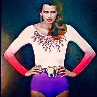 A deusa Fernanda Lima um arraso de body TM Primavera-Verão 2013!