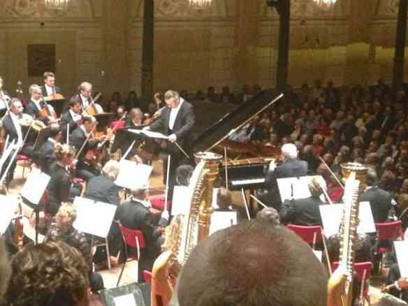 Em C, uma das salas de concertos mais linda da Europa!