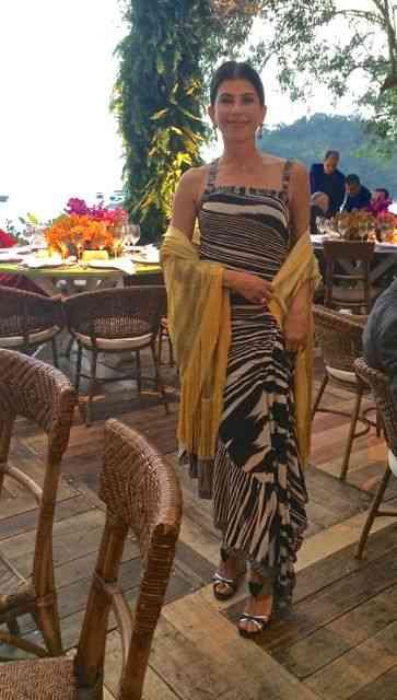 Patrícia Peltier de Queiroz sempre impecável!