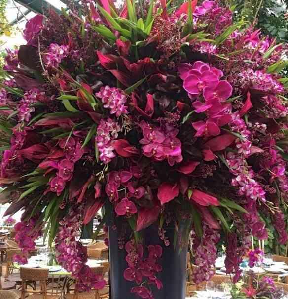 """Detalhe de um dos """"bouquets"""" que me deixou encantada!"""