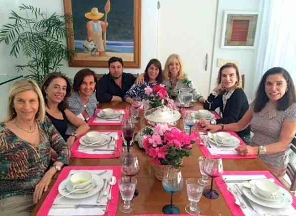 Almoço impecável em torno de nosso Mestre, Rafael Fonseca, amei!