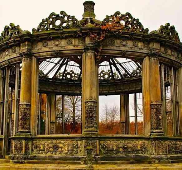 O ex consevatório de Orangery, em Edimburgo...