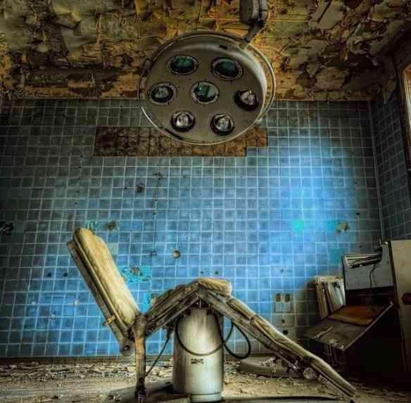 Hospital abandonado na Alemanha.
