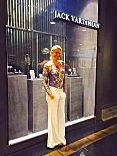 Carla Benchimol é a nova e linda Embaixadora da joalhería Lack Vartanian, no Rio de Janeiro.