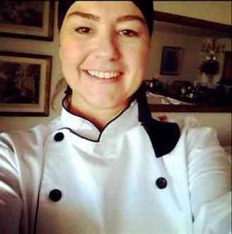 """Além de competente, nossa """"chef pâtissier"""" é linda demais!"""