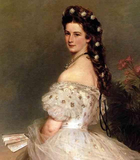 Eis Sissy, da Áustria, a grande musa inspiradora até hoje, e seus broches super fashion!