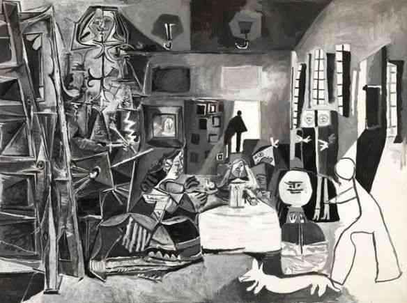"""Entre tantas preciosidades, algumas nunca expostas por serem de coleções particulares, este foi o meu preferido; do Museu Picasso de Barcelona, que é um must, """" Las meninas, after Velazquez"""" é um estouro!"""