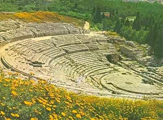 O incrível teatro grego de Siracusa, dos maiores da Magna Grécia!
