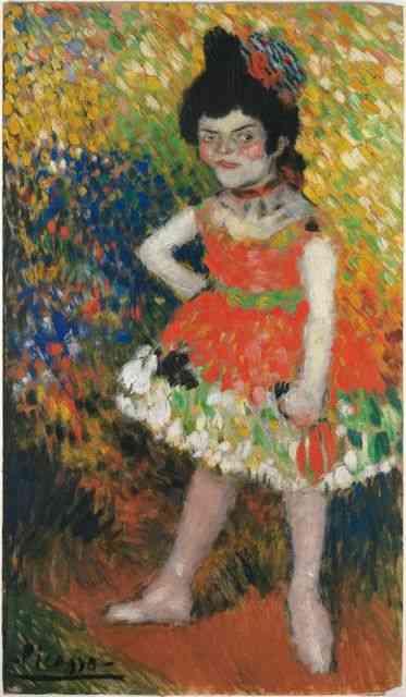 """""""A Anã Dançarina"""": Um blend entre Van Gogh, Velazquez e suas """"Niñas"""" ou Degas e suas bailarinas …."""
