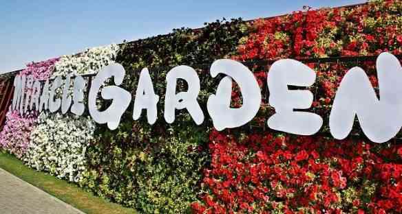 O nome estampado à entrada resume a ópera: Um jardim espetacular no meio do deserto... Milagre!