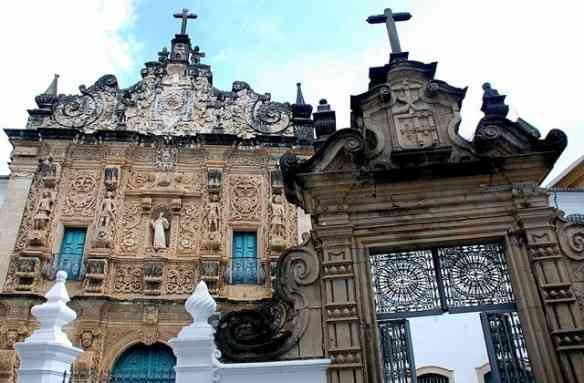 Fachada da Sé da Ordem Terceira de São Francisco, em Salvador, BA