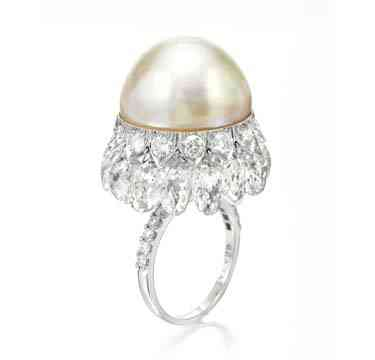 A-Natural-Pearl-and-Diamond-Ring-by-Viren-Bhagat-2