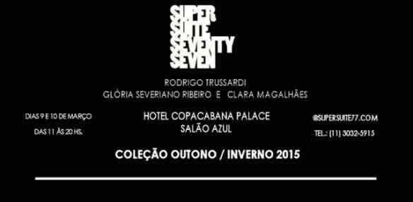 Meninas cariocas este convite é imperdível! Estaremos lá hoje e amanhã! Venham também!!!