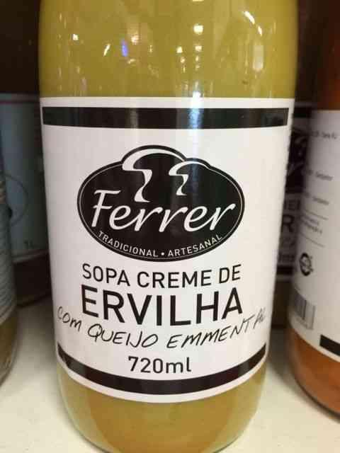 Além dos caldos, tem umas sopinhas deliciosas...