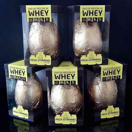 Ovo de Pascoa Whey Proteico Mega Vitaminas