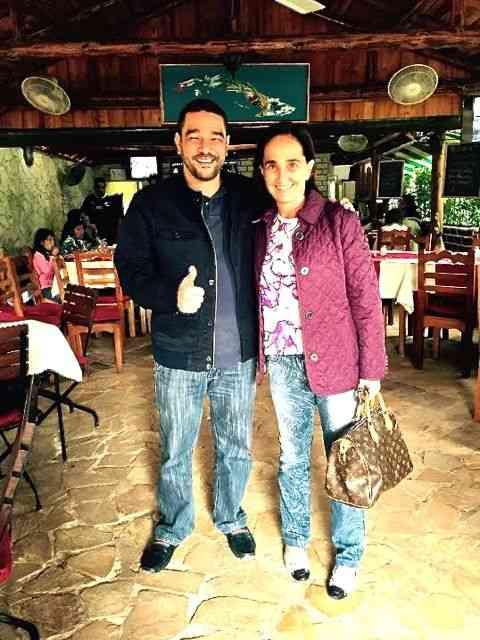 Conheci Walter num restaurante em Cojimar, nas cercanias de Havana: Preparava-se para o Campeonato Mundial de Habanosommelier!