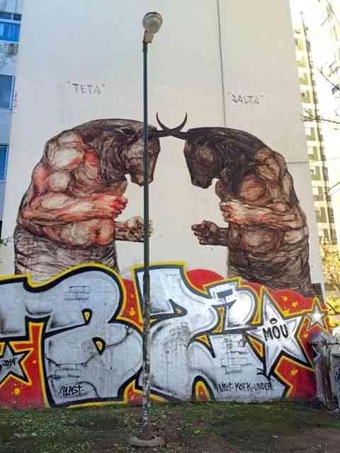 """Amei este passeio mais que legal para conhecer a """"street art"""" de Buenos Aires!"""