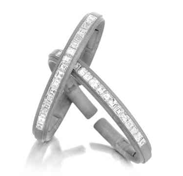 A-Pair-of-Diamond-and-Sand-Blasted-Cuff-Bracelets-by-Hemmerle