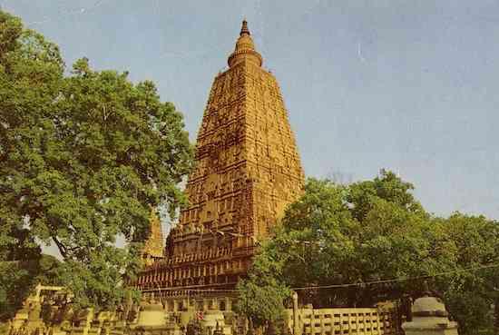 Bodhgaya, o lugar onde o Buddha atingiu o despertar (1)