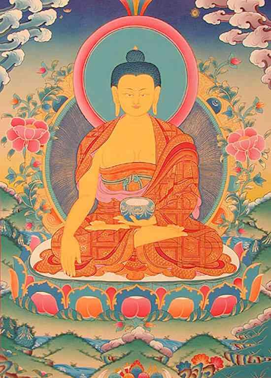 Buddha Shakyamuni - o Buddha histórico (7)
