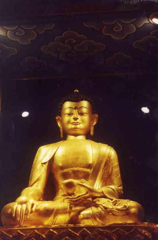 Estátua do Buddha Shakyamuni, o Buddha histórico (5)
