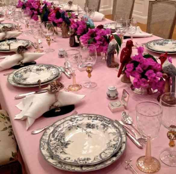 ... Ou um jantar digno de palácio!