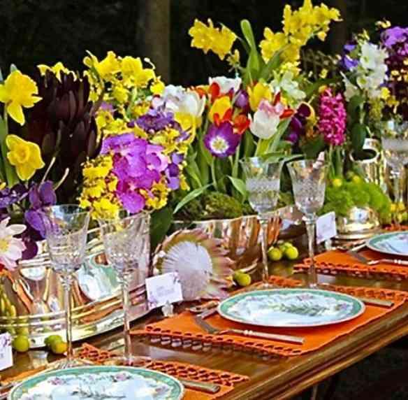 Amo curtir as mesas by Tânia Bulhões: Requinte e bom gosto em seus DNA!