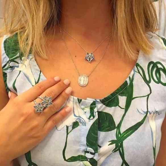 Delicadeza em forma de colar e anel: Quero!!!