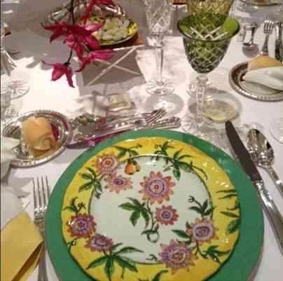 Amoooo!!! Porcelana Flor de maracujá... Pra deixar nossa casa muito mais romântica!