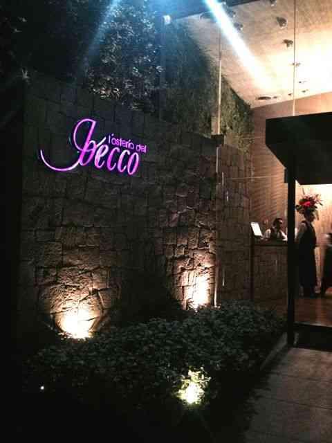 Osteria del Becco: embaixadora da culinária italiana no México!