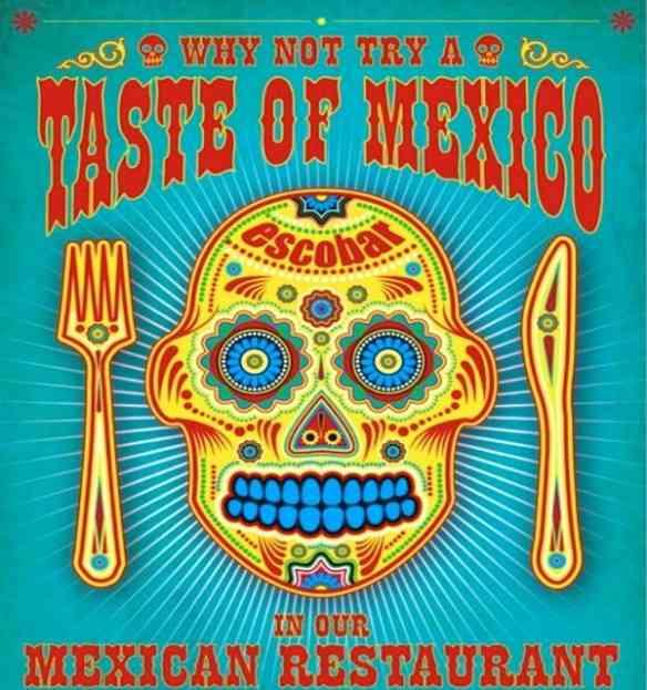 As cores e sabores da culinária divina mexicana está representada em alguns dos seus maravilhosos restaurantes, que canto abaixo!