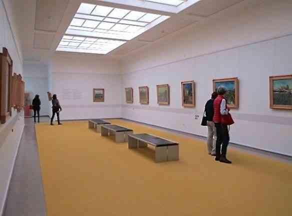 Sala de exposição: Segundo maior acervo de Van Gogh do planeta!