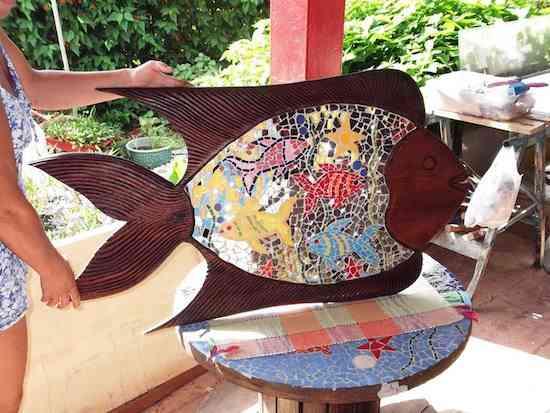 peixe espelhado